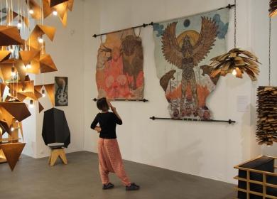 """Wystawa """"Korzenie"""", Galeria Bielska BWA, Bielsko-Biała, 2019."""