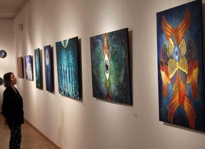 Retrospekcja- zbiór obrazów jednej dekady, Galeria pod Atlantami, Wałbrzych, 2019.